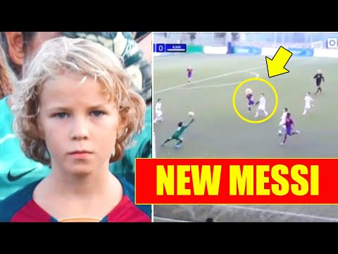 MICHAL ZUK - new MESSI from BARCELONA and LA MASIA! Could be better than Messi? Skills and goals