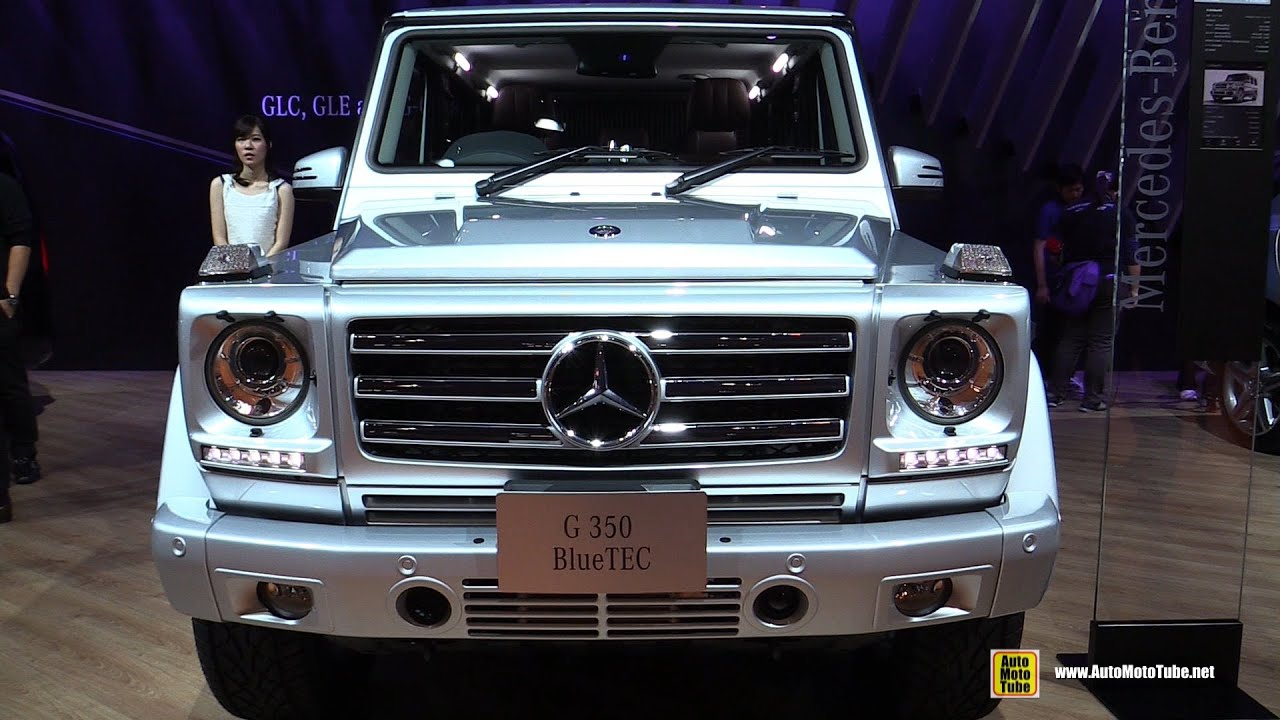 2016 mercedes g class g350 bluetec exterior and interior walkaround 2015 tokyo motor show youtube - Mercedes G Interior 2015