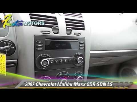 Used 2007 chevrolet malibu maxx ls lubbock youtube for Fiesta motors lubbock tx frankford