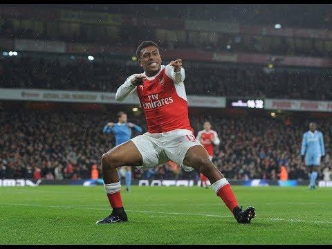 ALEX IWOBI | Top 5 Arsenal Goals