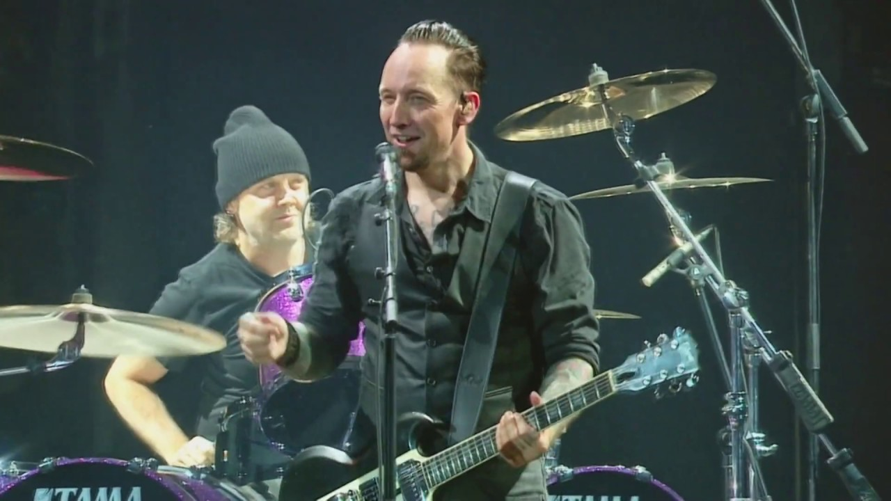 Volbeat feat  Lars Ulrich - Guitar Gangsters and Cadillac Blood (Live From  Telia Parken 2017 08 26)