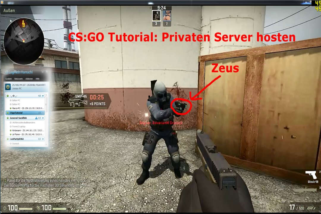 how to create lan server in cs go