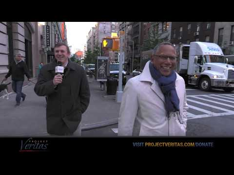 James O'Keefe CONFRONTS NYT Exec Editor Dean Baquet