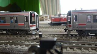 【16番(HO)】キハ75系快速みえ・2両増結して発車