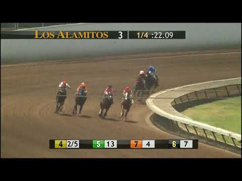 INSTAGRAND looks fantastic in Race 3 at Los Alamitos 6 -29-18