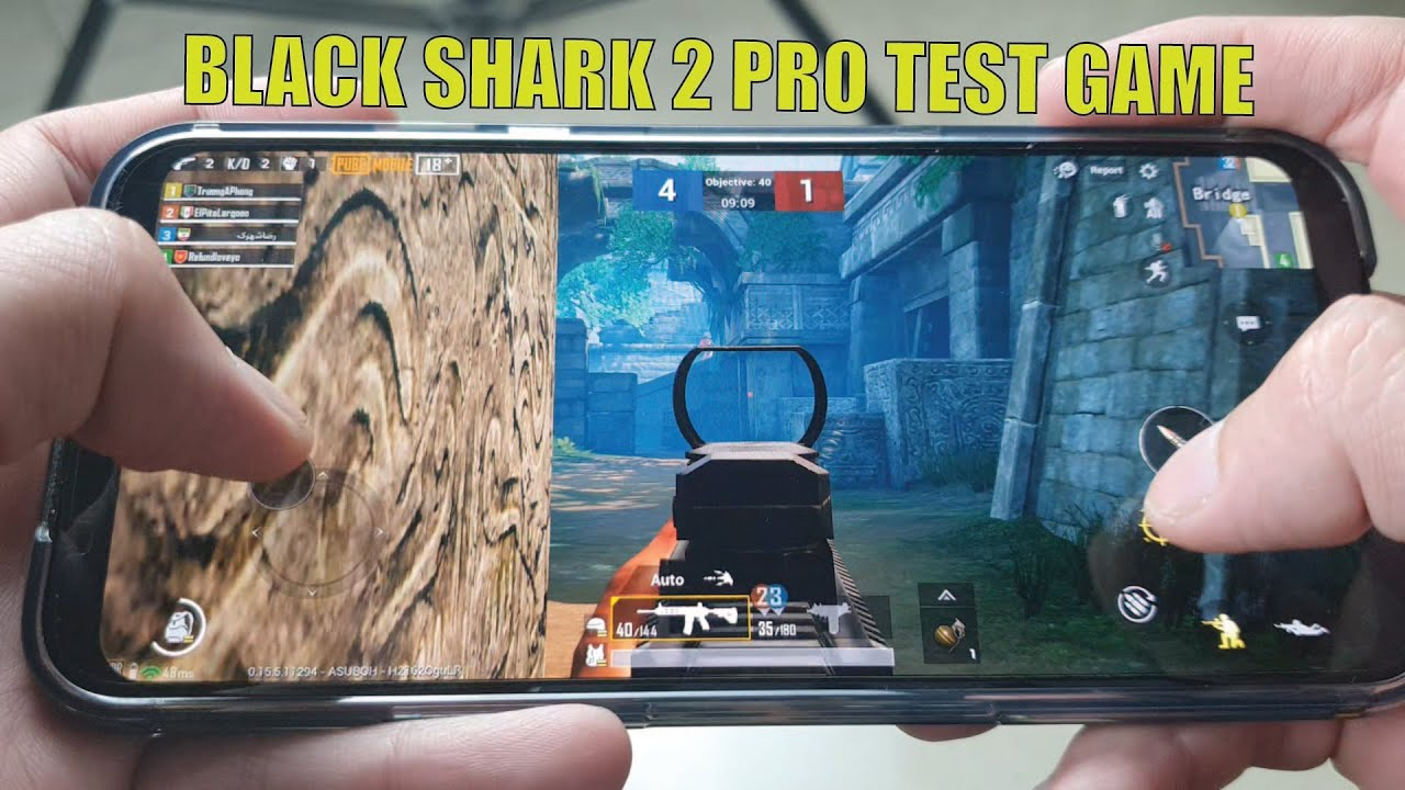 Xiaomi Black Shark 2 Pro TEST GAME PUBG| Snapdragon 855+