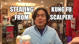 WWE ACTION INSIDER: Wrestling Figure Shopping and STEALING at NJCC! Kung Fu Scalper has Elite 34!