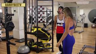 Kissing Prank - EXTREME GYM EDITION!