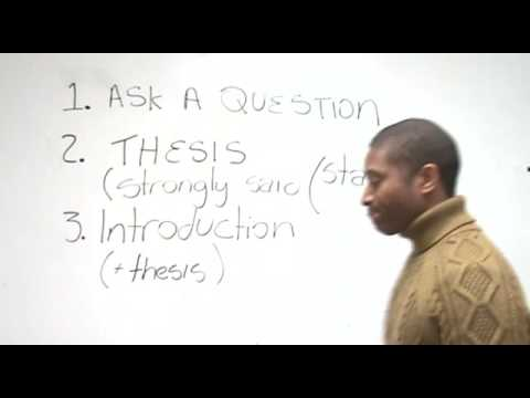 How to Write an Effective Essay - YouTube