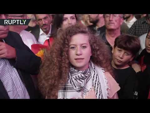 الفلسطينية عهدد التميمي تواجه رسالة الى ترامب  - نشر قبل 4 ساعة