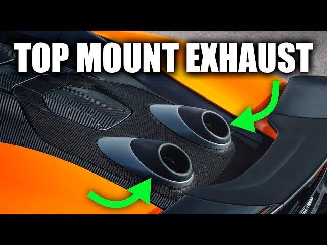 Why McLaren's Top Mount Exhaust Is Genius