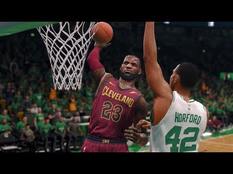 NBA LIVE 2018 Playoffs Cleveland Cavaliers vs Boston Celtics Full Game 7 NBA Finals NBA LIVE 18