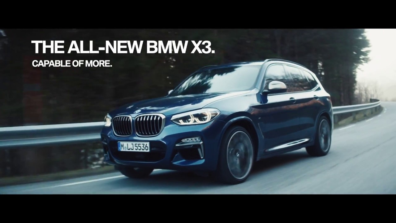 2019 New Bmw X3 Capable Of More Trailer