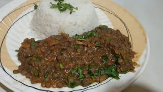 How to cook lentils (kamande)must watch