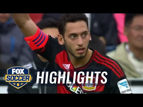 Bayer Leverkusen vs. Eintracht Frankfurt | 2015-16 Bundesliga Highlights