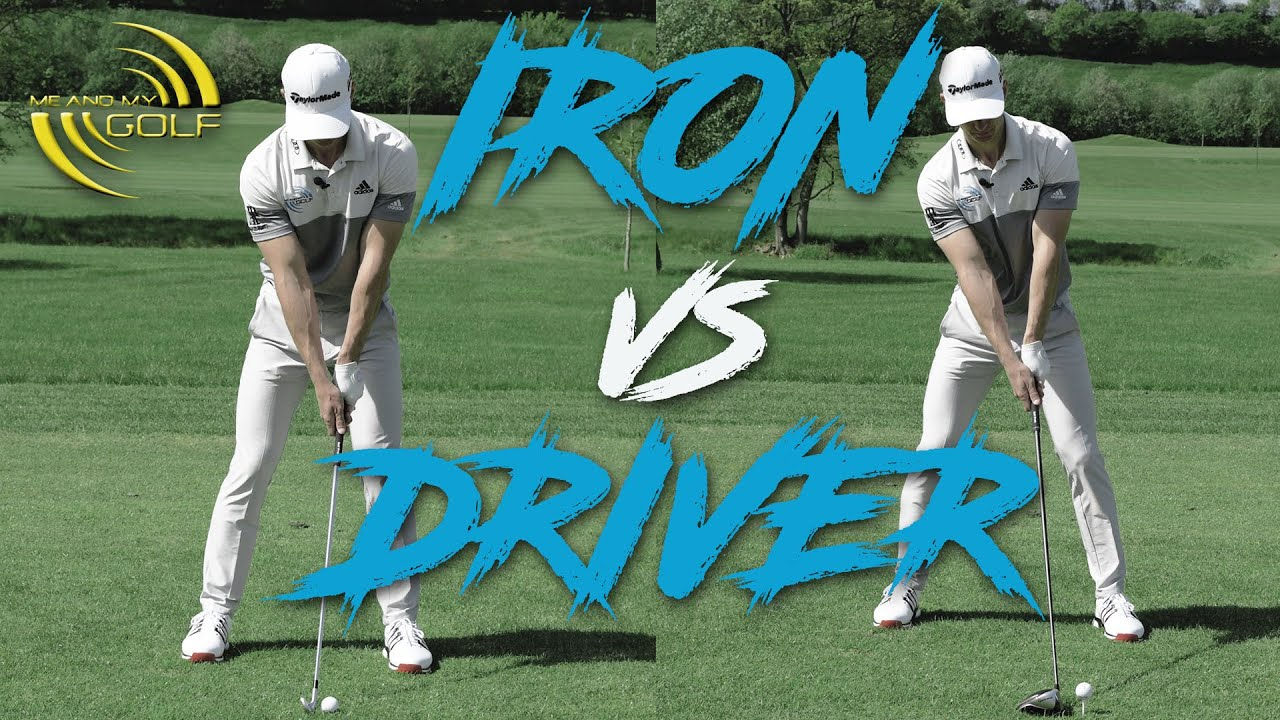 IRON vs DRIVER Set-Up Basics | ME AND MY GOLF