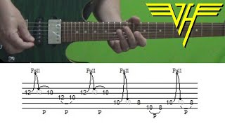 Van Halen - Right Now - Guitar Solo Lesson, with Tabs!