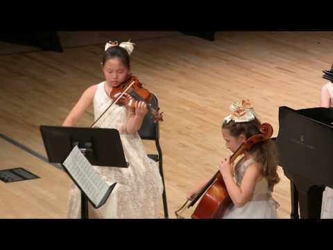 Season 2016-17 JCM-OC Final Concert: Mendelssohn Piano Trio No. 1 in d minor, Op. 49