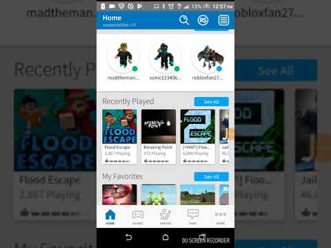 How to get free stuff on roblox in phone - YouTube