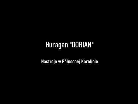 Huragan Dorian - nastroje w Północnej Karolinie