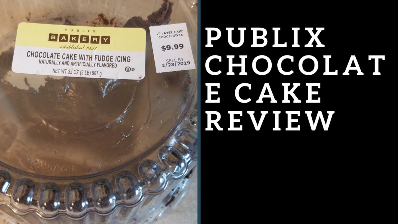 Publix chocolate cake with fudge icing review