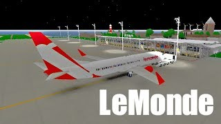 ROBLOX | LeMonde Airlines Boeing 737-800 Flight #2