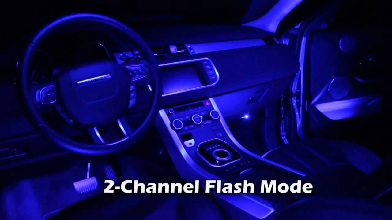 Car color kit - Xkglow 4x12inch Single Color Led Car Truck Accent Interior Light Kit Youtube