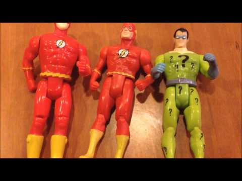 Kenner Super Powers Flash vs Toybiz Flash - MIKE PLAYS WITH TOYS #42