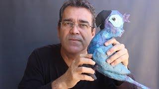 Arara Azul Papietagem Ao Vivo - ararinha Blu do filme Rio