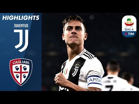 Juventus 3-1 Cagliari | Juve Secure 10th Win of the Season | Serie A