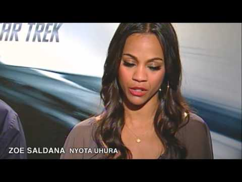 'Star Trek' Interview: Karl Urban & Zoe Saldana