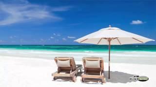 Gentle Beach Waves Music, Relaxing Ocean Waves Music
