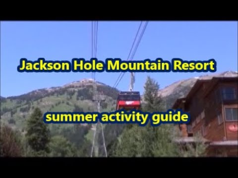 Jackson Hole Mountain Resort summer activity guide