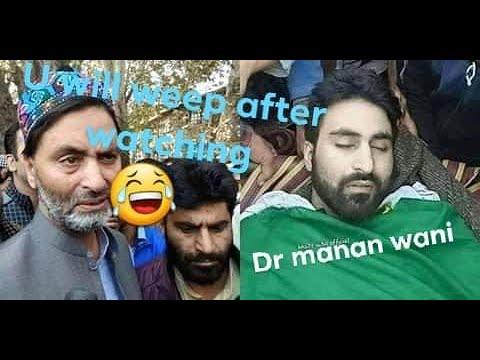 Full life storY of Dr manan wani(shaheed manan)
