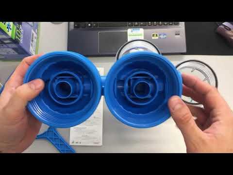 """ATLAS Filtri DP 10 Duo 1/2"""" 3/4"""" 1"""" - Двойной магистральный фильтр для холодной воды"""