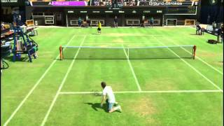 PSVITA - Virtua Tennis 4  World Tour Edition Gameplay