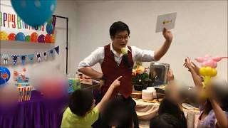 SUPER FUNNY MAGIC SHOW for KIDS by Aiden the Magician!