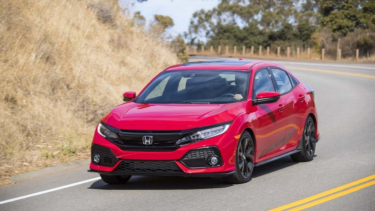 2017 Honda Civic Hatchback Hybrid And Accord Road Tests