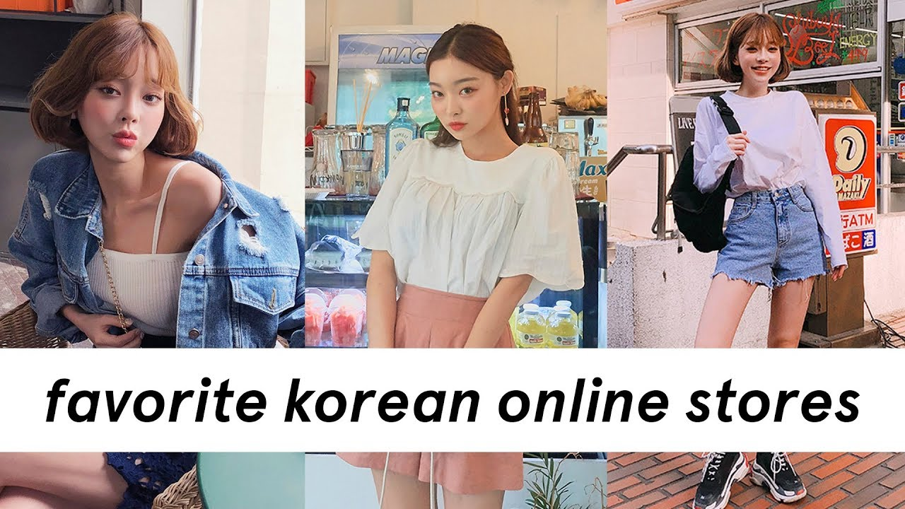 my favorite online korean clothing stores / websites ✨