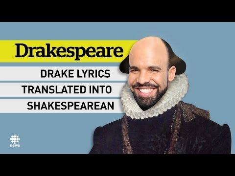 Drakespeare - Drake's lyrics set to Shakespearian prouse
