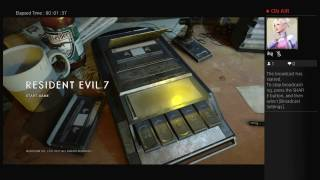 Resident Evil 7 Stream #3 Madhouse Difficulty Part 1/5 with Live Commentary