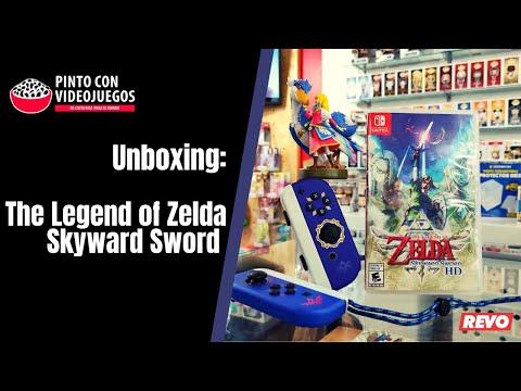 ¡TRIPLE UNBOXING! The Legend of Zelda: Skyward Sword