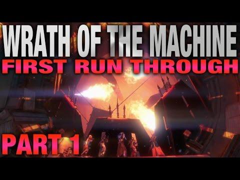 First Run - Wrath Of The Machine - Rise Of Iron Raid - Part 1