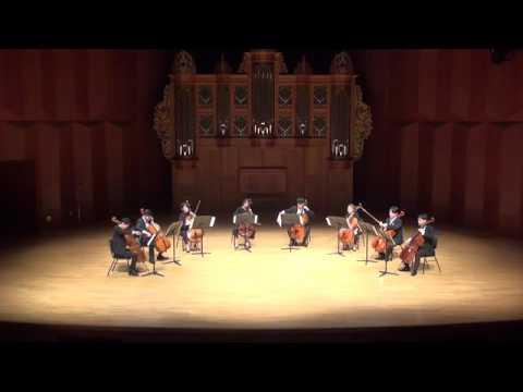 Astor Piazzolla - Le Grand Tango (KNUA Cello Ensemble)