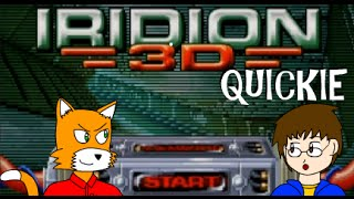 Let's Play Iridion 3D Quickie/Won In One
