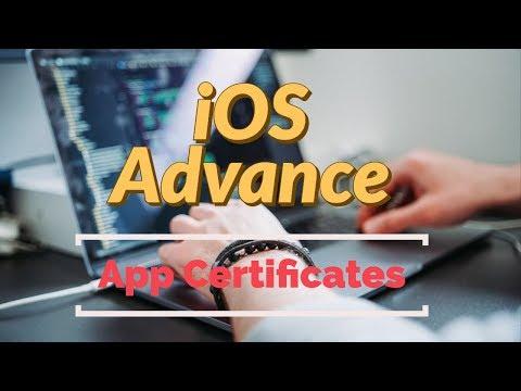 Create app provisioning profile, APNS and development certificates