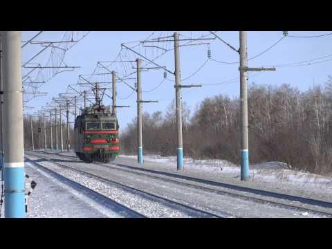 Толкач возвращается в Сызрань-Южную с Рябины.