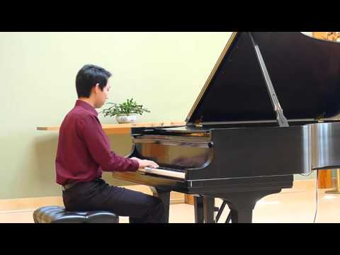 Bach: WTC1 No. 20 in a minor BWV 865 (David Liu)