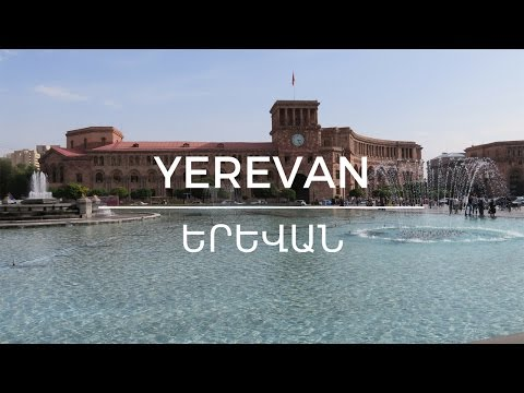 "YEREVAN, Armenia: Top sights and attractions of the ""Pink City"" (2016)"