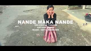 Gambar cover Lagu Karo Terbaru NANDE MAKA NANDE - Cika Br Tarigan | OST FILM KARO | ORIGINAL